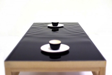 Stylish Ripple Effect Table