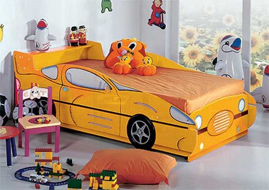 Cool Car Shaped Bed