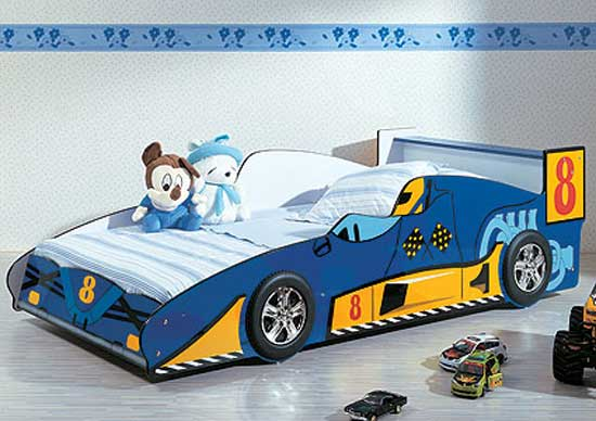 Amazing Car Shaped Bed