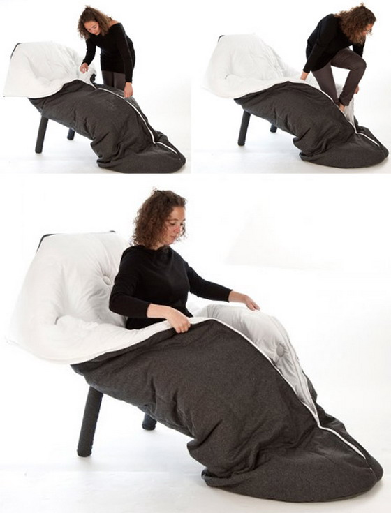 Unique Sleeping Chair