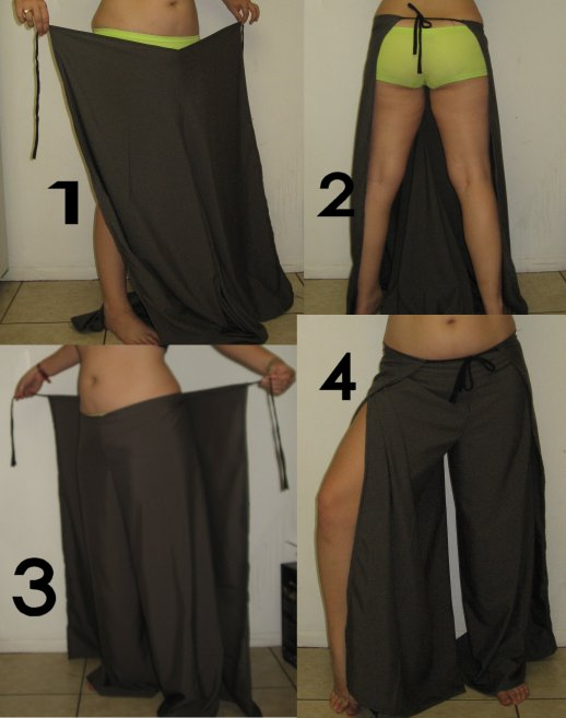 How to Sew Wrap Pants | eHow.com