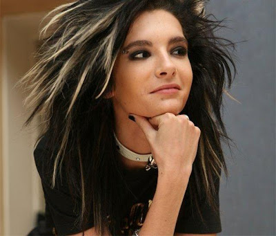 Bill Kaulitz long hairstyle