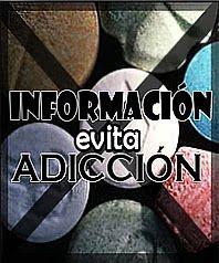 INFORMACIÓN, evita ADICCIÓN