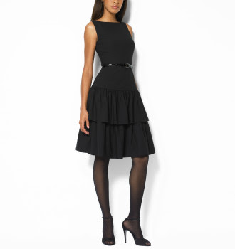 ralph lauren black dresses