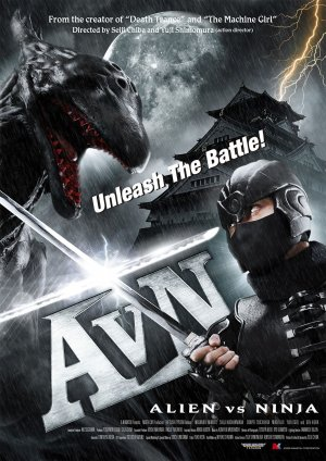 Alien Vs Ninja – Japonês – DVDRip