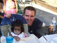 Pryanka & Daddy -1st B-Day