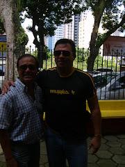 Los candidatos: Profesores Efraín y Prieto.