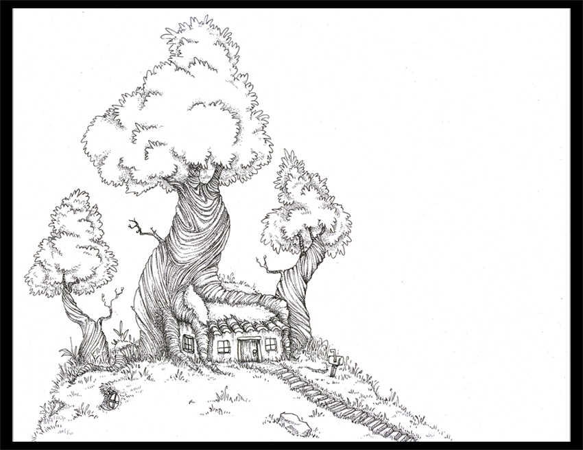 Drawing Of A Tree House Apps Directories