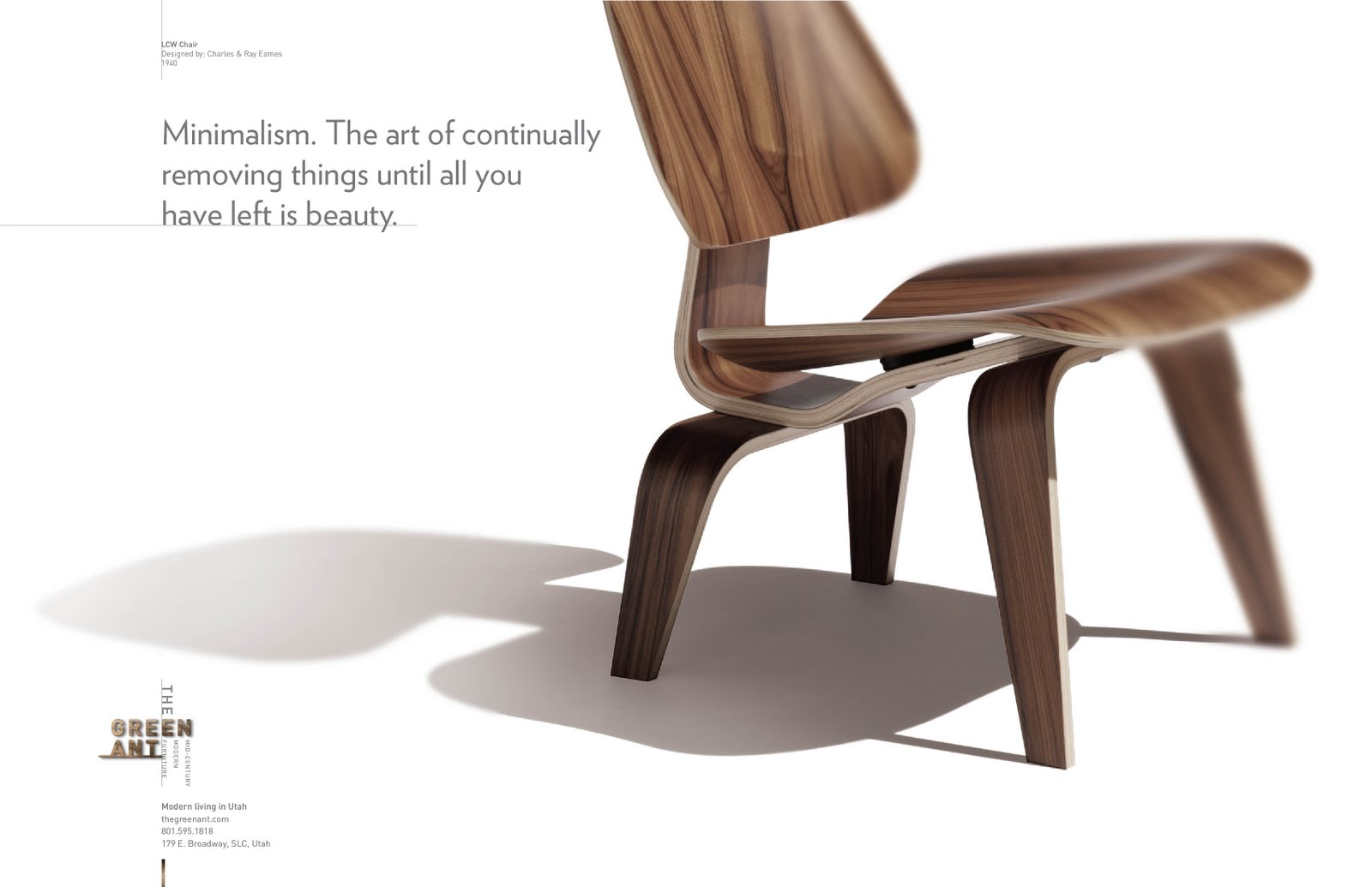 Furniture advertising slogans - Campaign For The Green Ant