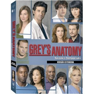 Grey's Anatomy 3º Temporada – Dublado