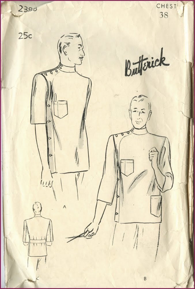 NewVintageLady: Men\'s Sewing Patterns