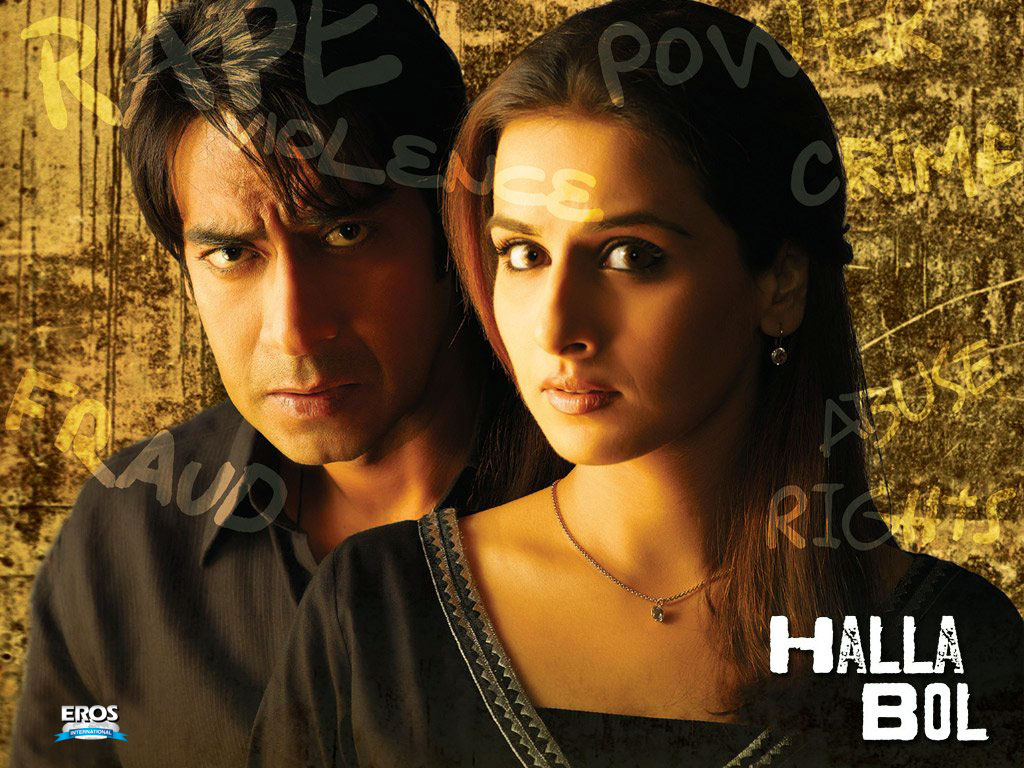 Halla Bol Movie Review 3/5: Critic Review of Halla Bol ...