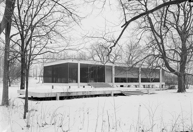 Su Mentor En El Minimalismo Construyendo The Glass House En 1949