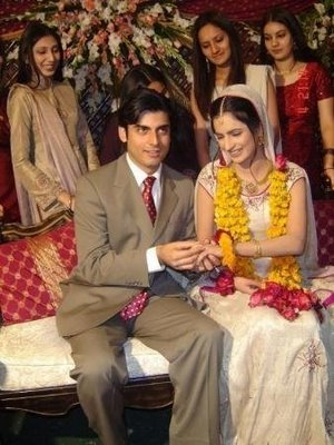 Pakistan Actor Fawad Khan Engagement
