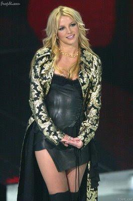 Sexy American Pop Singer Britney Spears