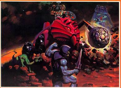 He-Man en el  Bashasaurus