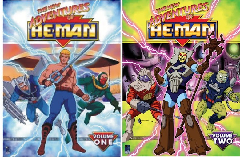 DVDs New Adventures of He-Man (Vol. 1 y Vol. 2)