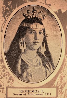 1912 reina de mindanao remedios reyes y fernandez of camiguin island