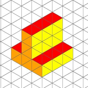 Dibujando en clase estructuras modulares bidimensionales - Figuras geometricas imposibles ...