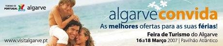Algarve convida - Feira de Turismo do Algarve (clique para saber mais)