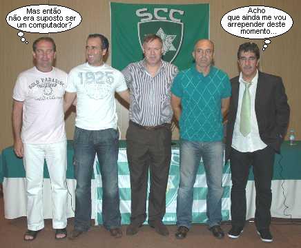 Joanito, Luciano, Álvaro Magalhães, Jorge Ramiro e João Salcedas