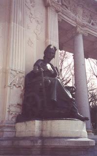 Al·legoria. Forma part del monument a Alfonso XII