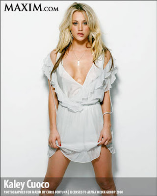 Kaley Cuoco Maxim US March