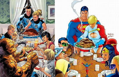 Superhero Thanksgivings