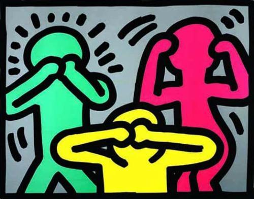 Get Ta Steppin': Keith Haring