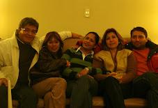 Imagen de reciente reunión en casa de Alma. Setiembre 2007