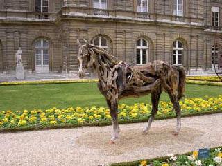 esculturas de caballos Driftwoodhorse06vo3