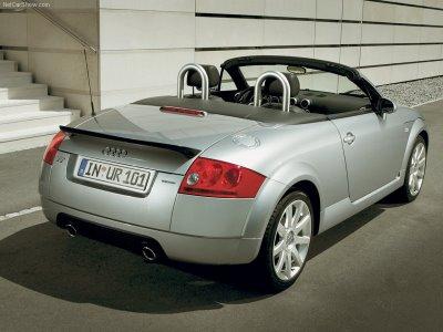 Audi Tt Roadster Wallpaper. 2005 Audi Tt Quattro Sport.