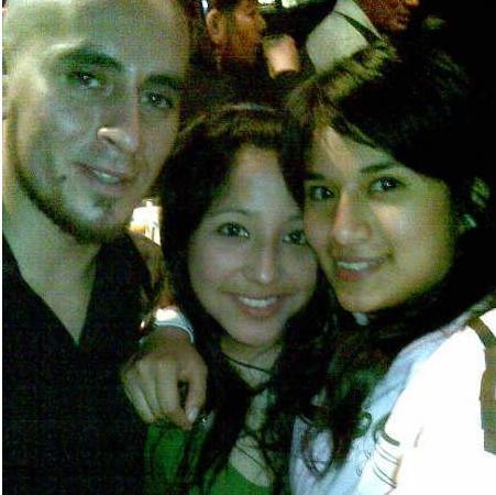Con Giova y Andres!