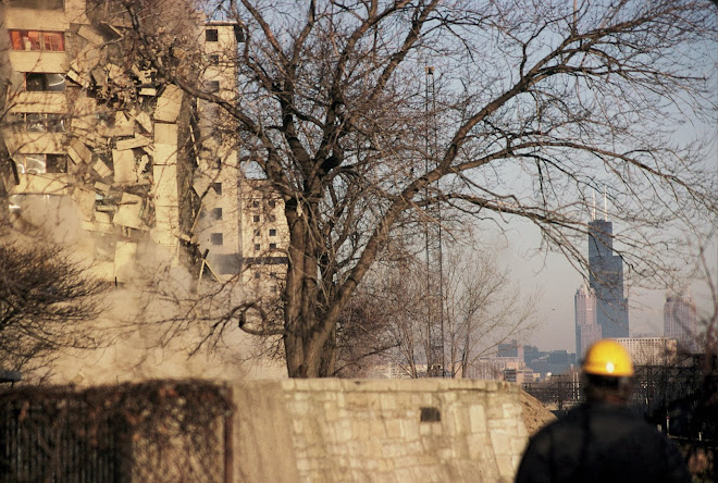 Housing Authority Complex Demolished Via Implosion: Chicago, Illinois