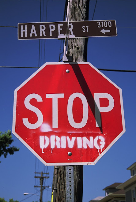 Stop Driving: Only in Berkeley, California
