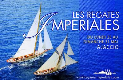 affiche regates imperiales 2009 ajaccio