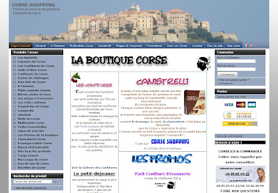 corse shopping boutique en ligne