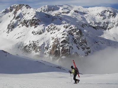montagne corse sous la neige