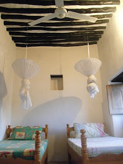 Single, Double and Twin rooms available at Nyuma Gereza Hotel, Lamu Island, Kenya