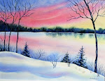 """Winter Sunset """