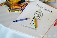 crayons Kid's Activities at Weddings