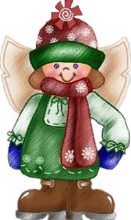 Lindos anjos de natal