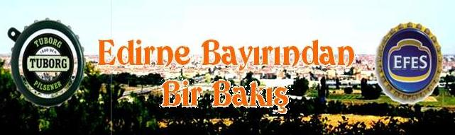 Edirne Bayırından Bir Bakış