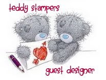 Teddy Stampers Guest Designer - February