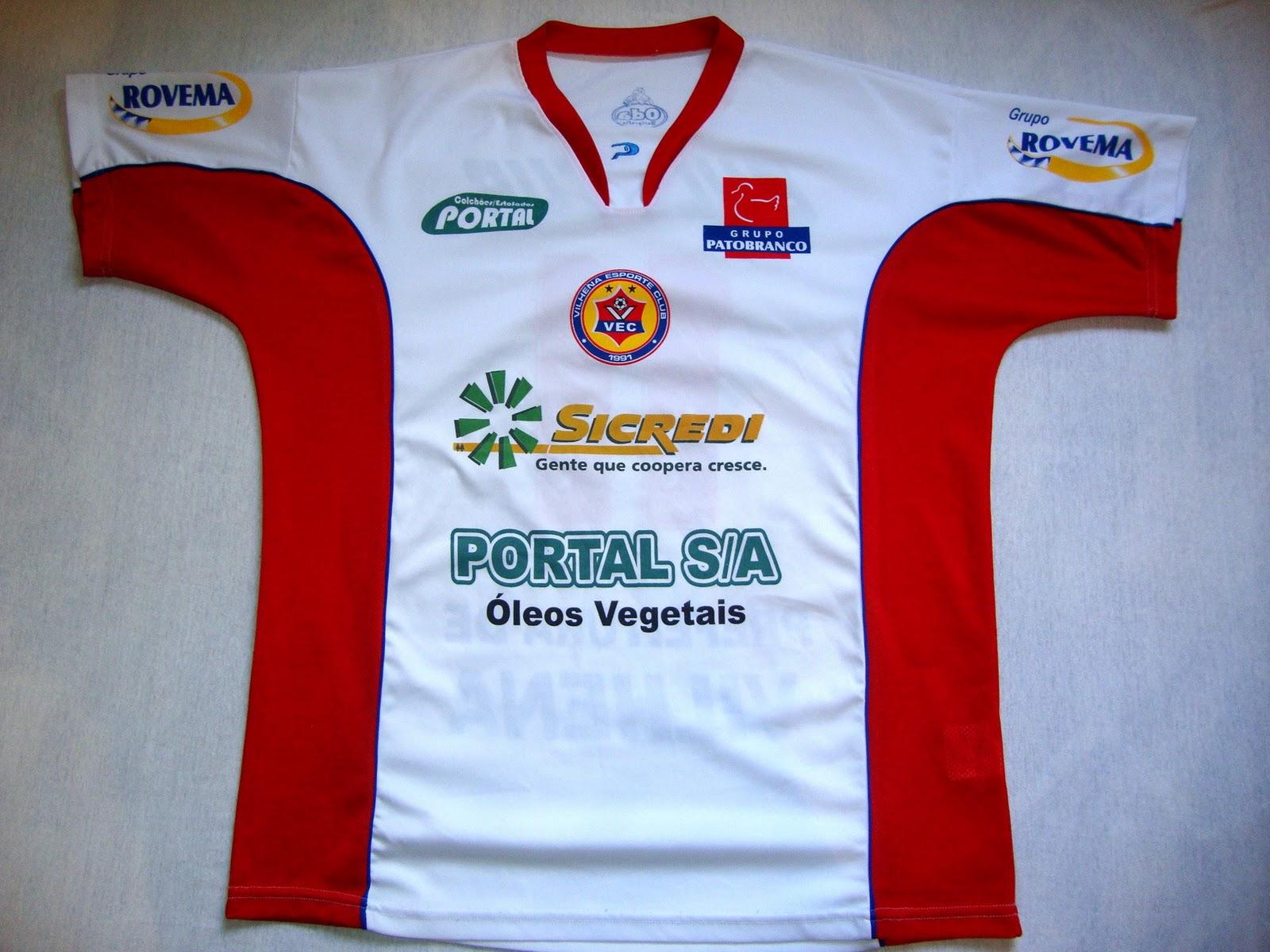 686828c226 Vilhena Esporte Clube (RO) - Show de Camisas