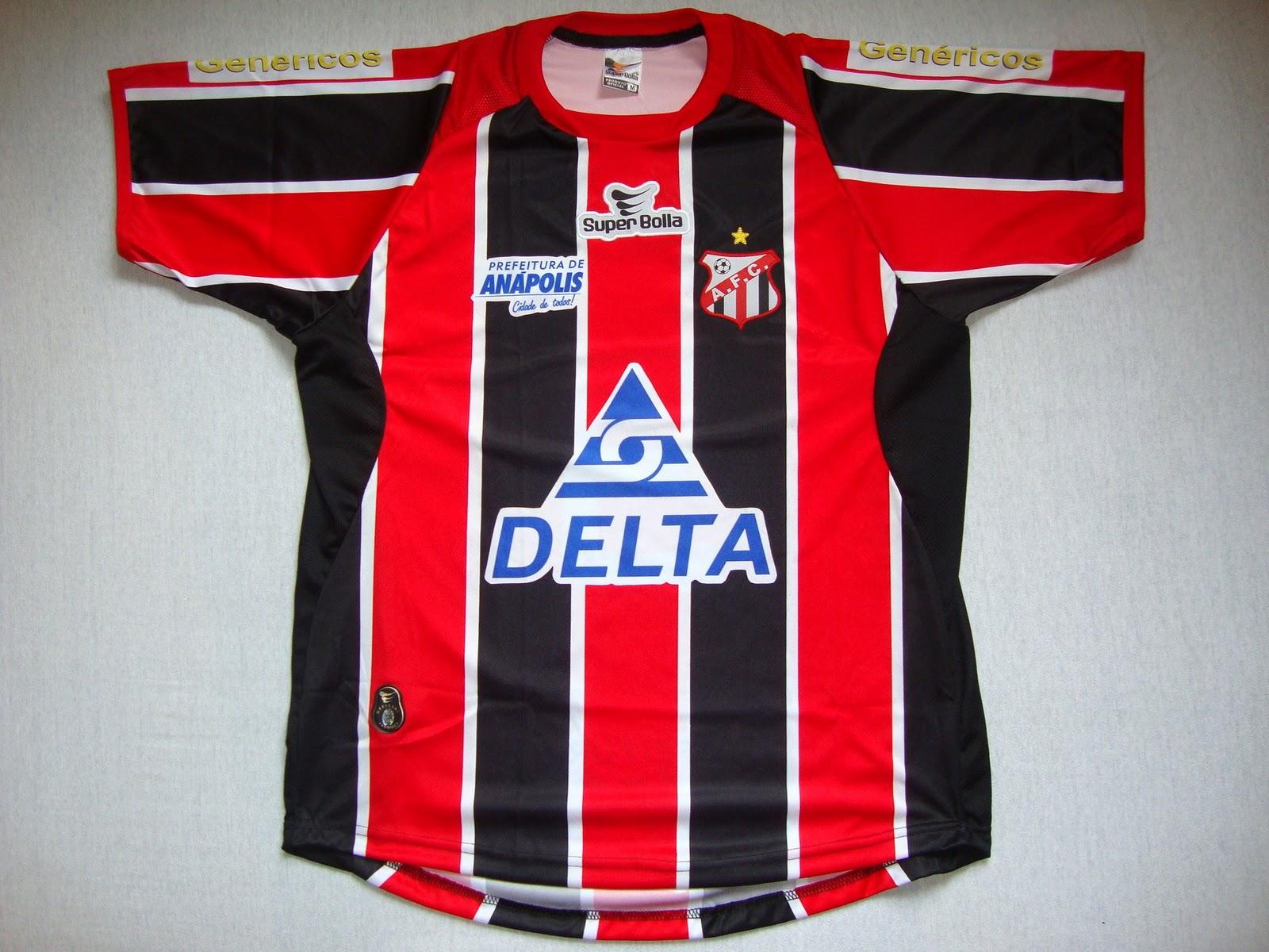 09af972cd9 Anápolis Futebol Clube (GO) - Show de Camisas