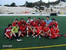 Juniores Vencedores Torneio de Páscoa da Nazaré 2010