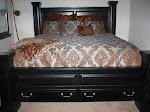 MY BIG BED!!!