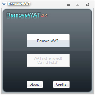 Windows 7 Activator RemoveWAT v1.9