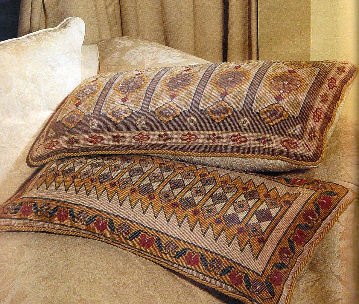 Bordar tejer y algo mas alfombras y cojines - Cojines de lana ...
